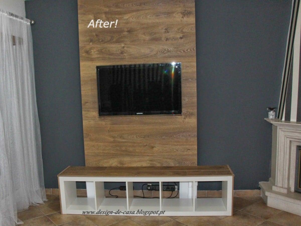 Expedit Panel Tv Ikea Hackers