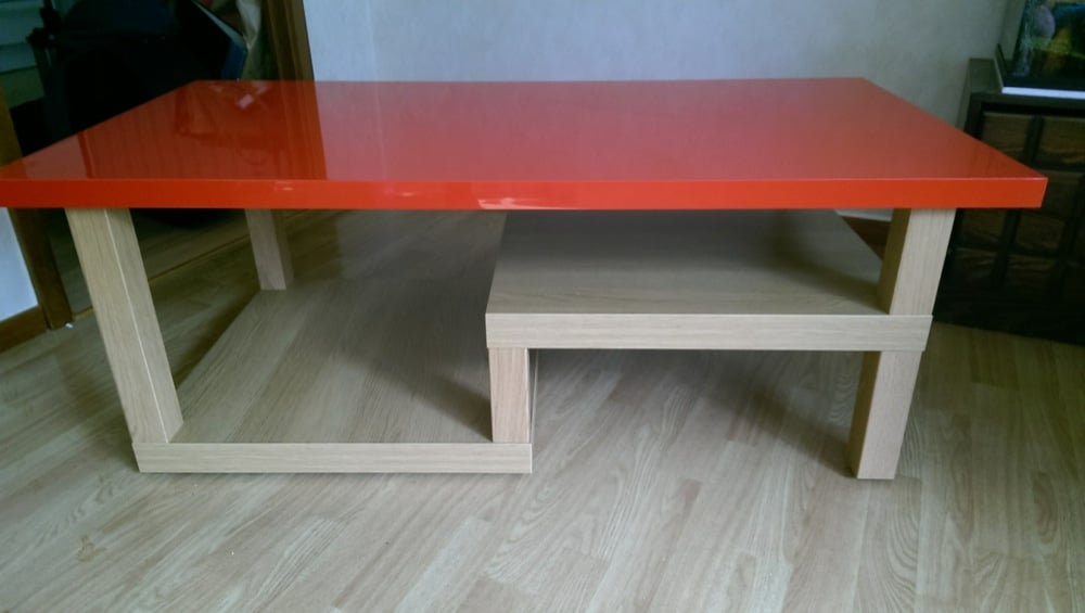 Changing The Shape Of The Lack Coffee Table Ikea Hackers