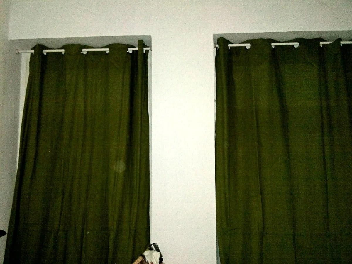 Hanging Curtains Without Drilling With Ore Shower Curtain