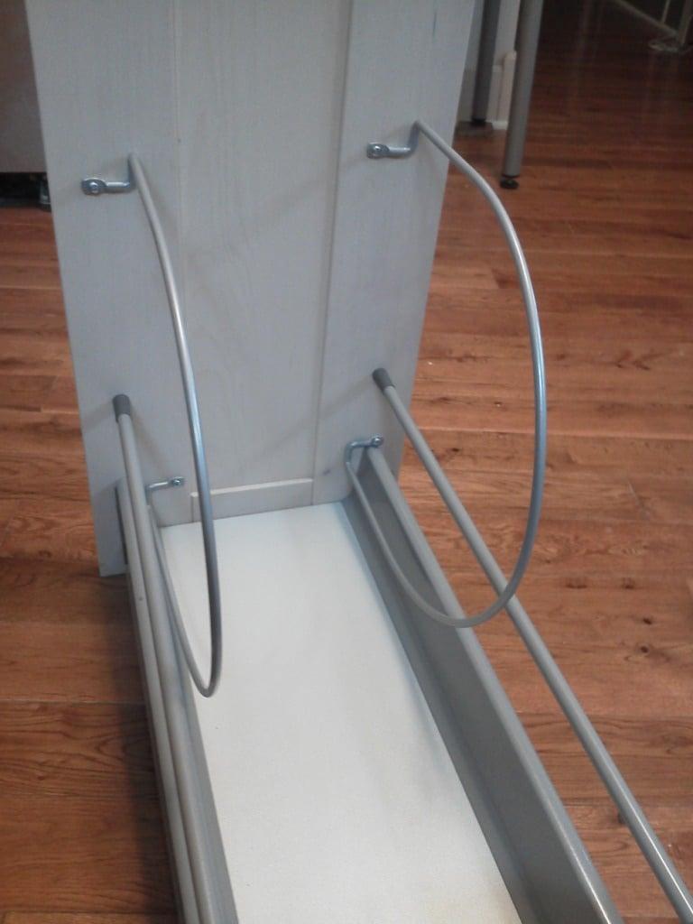Tray Amp Cutting Board Storage Ikea Hackers