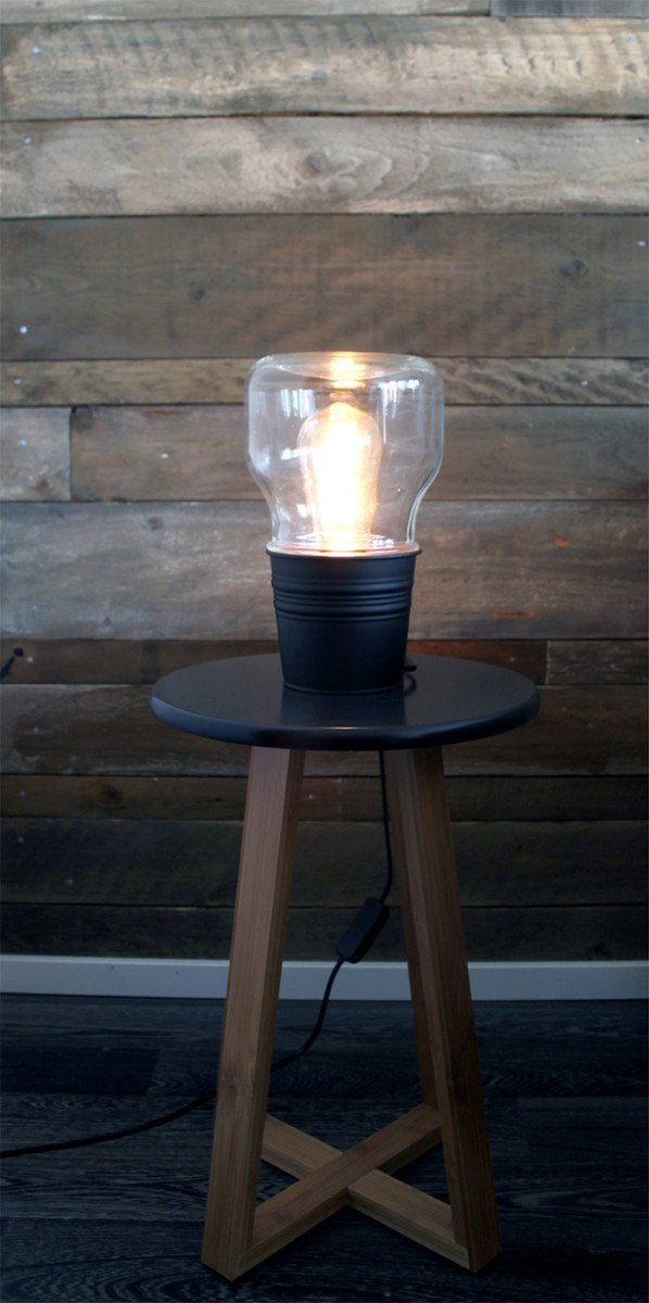 Modern Industrial Small Table Light Ikea Hackers