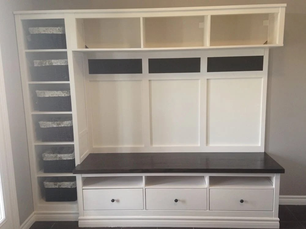 Hemnes Entryway Hack Ikea Hackers