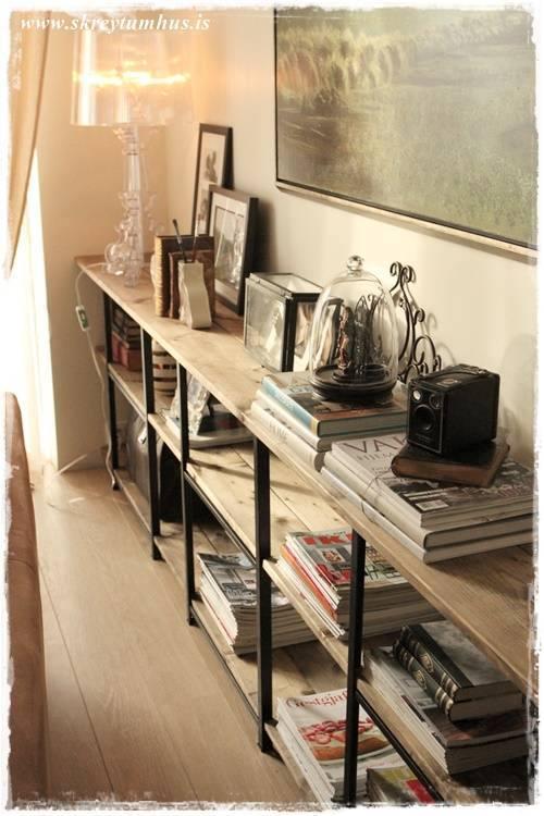 HYLLIS sofa room divider bookcase