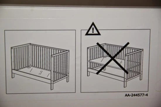 gulliver baby crib meets an engineer ikea hackers. Black Bedroom Furniture Sets. Home Design Ideas