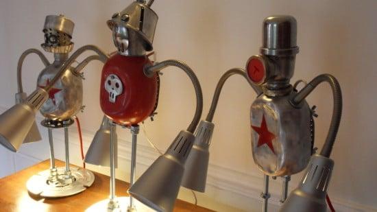 IKEA KVART robot lamps 2
