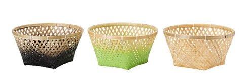 IKEA NIPPRIG hand woven baskets