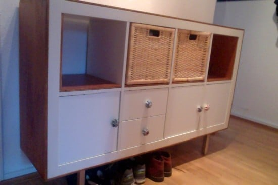 IKEA EXPEDIT with plywood trim | IKEA Hackers