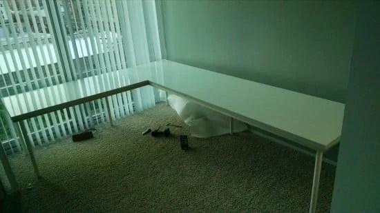 IKEA LINNMON Large Corner Desk | IKEA Hackers