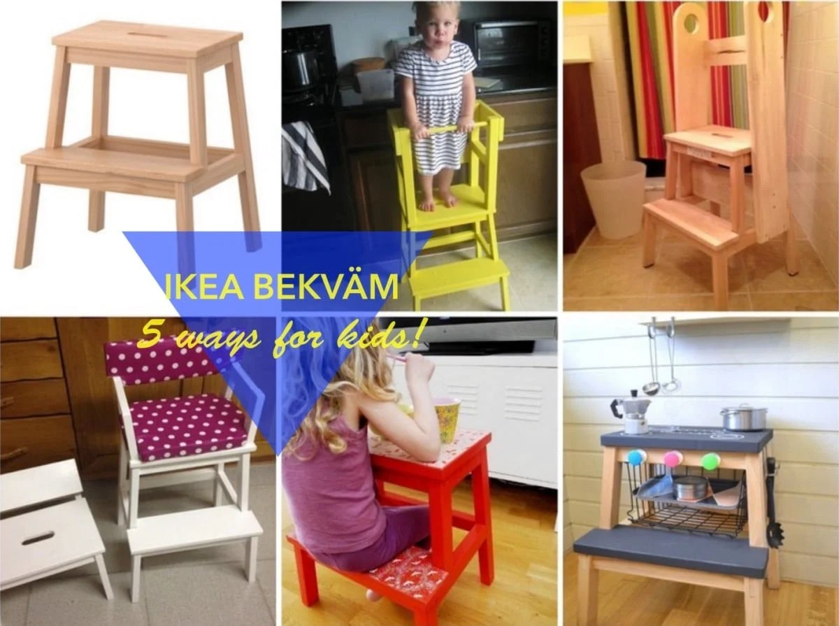 5 Fun Ways To Use The Bekvam Step Stool For Kids