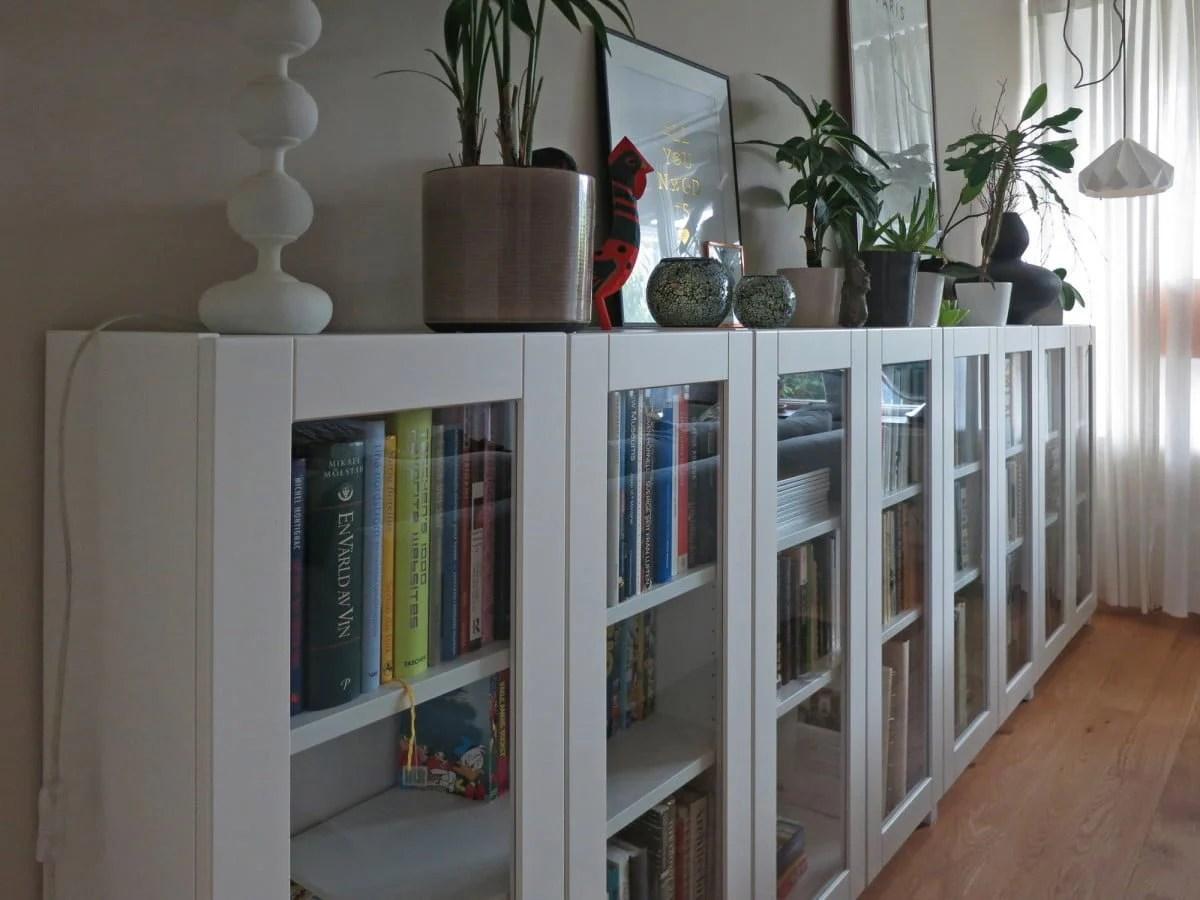 storage products bookcases billy white stained oxberg en door furniture bookcase veneer ikea oak gb with glass