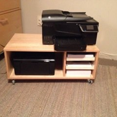 EFFECTIV printer cart | IKEA Hackers