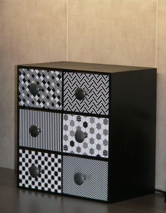 IKEA Moppe Tea Box - close up