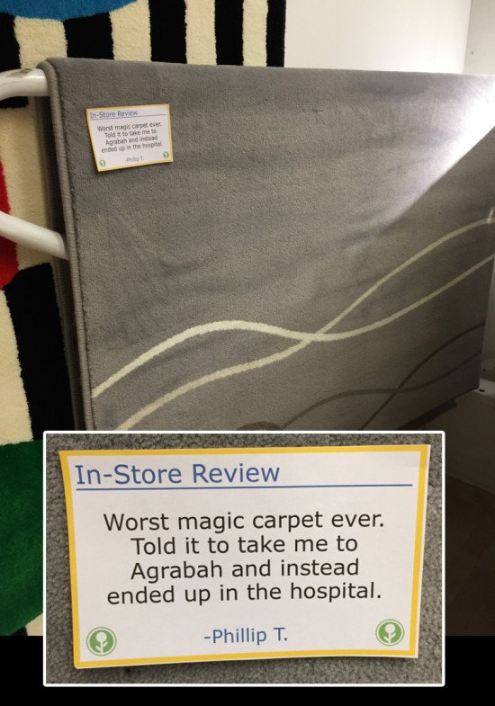 02 - Funny in-store IKEA reviews