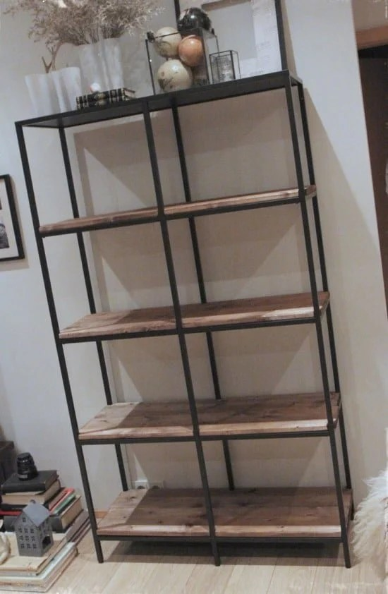 Turning The Vittsj 246 Shelving Rustic And Industrial Ikea