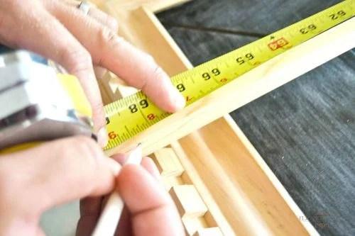 Ikea Monstad mirror - hack