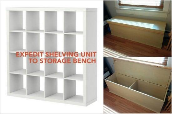 EXPEDIT storage bench