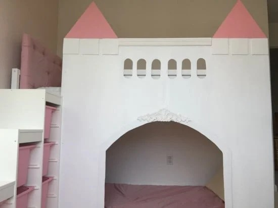Ikea kura bed castle