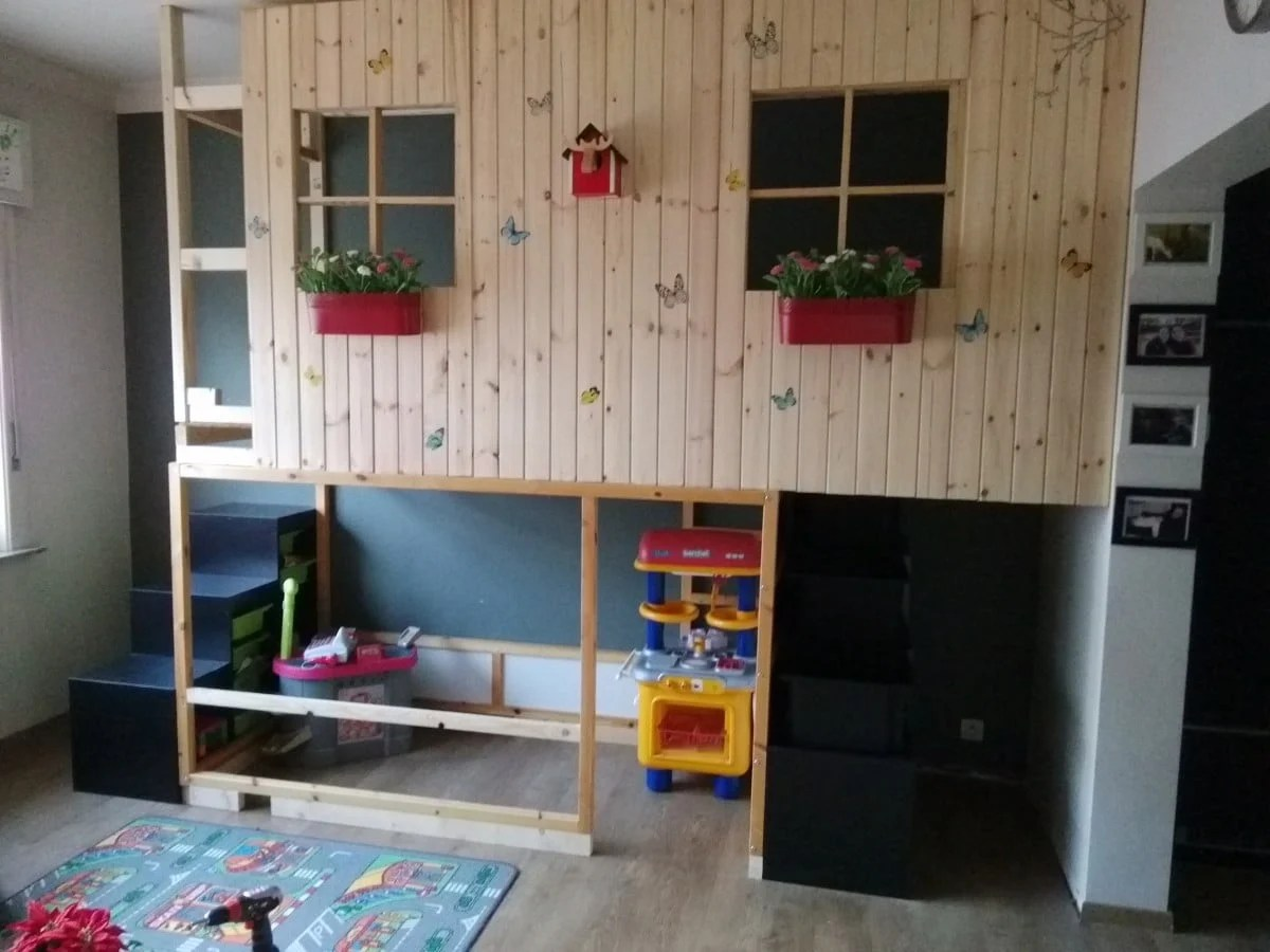 Ikea Kura Double Decker Playhouse Ikea Hackers