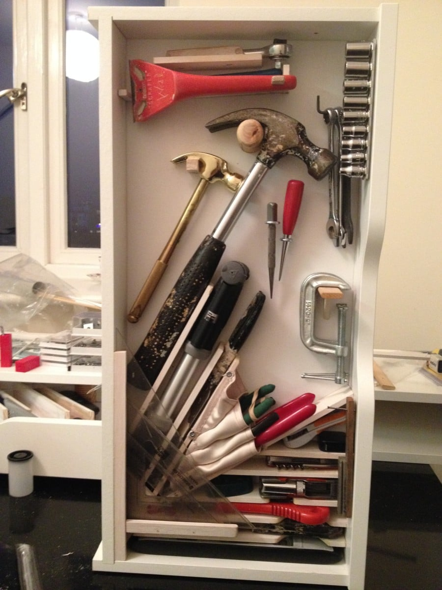 Sneaky Ekby Alex Tool Cabinets Ikea Hackers