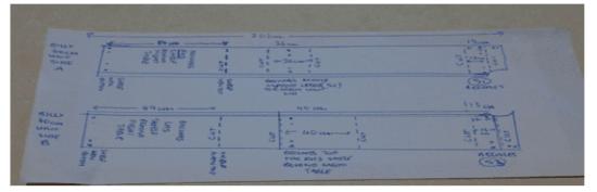 Malm Billy Bed Head Bill 40cm cutting diagram