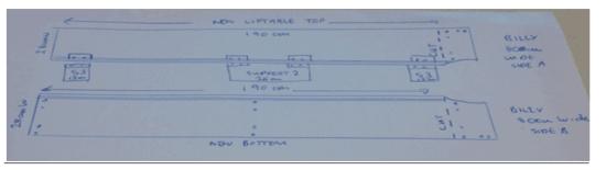 Malm Billy Bed Head Billy 80cm Cut Diagram Image 1