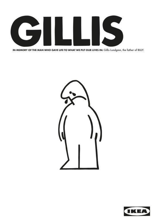 GILLIS LUNDGREN inventor of BILLY dies at 86