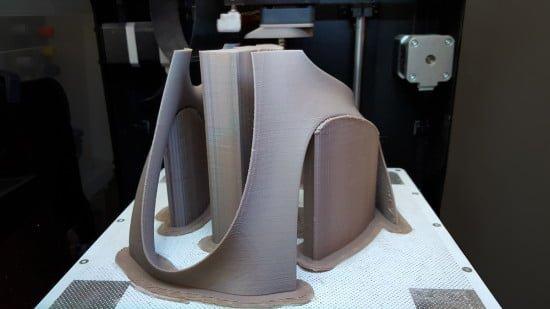 3D printed lampshade