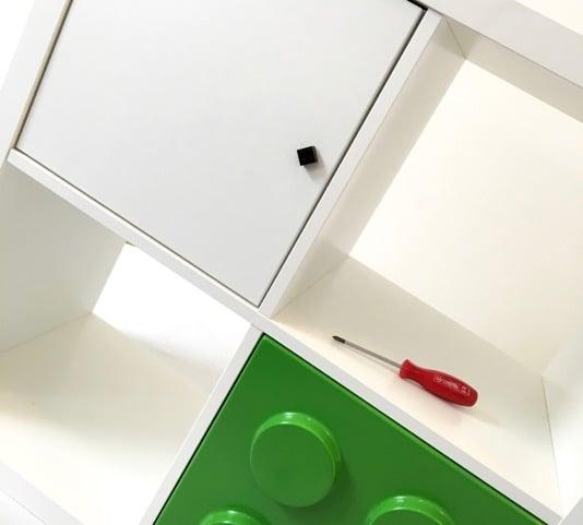 LEGO bricks door knob