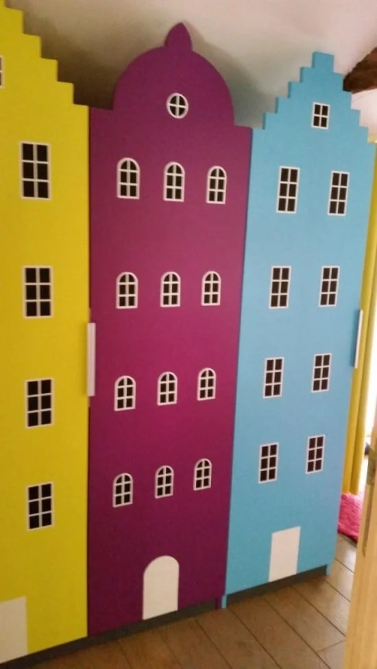 Transforming PAX into buildings for a child bedroom