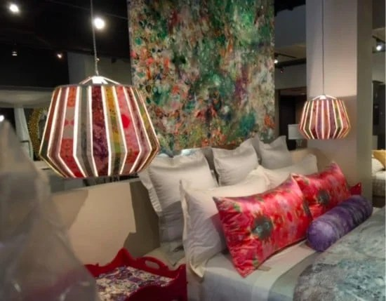 50's florentine pendant lamp from IKEA LAKHEDEN lamp