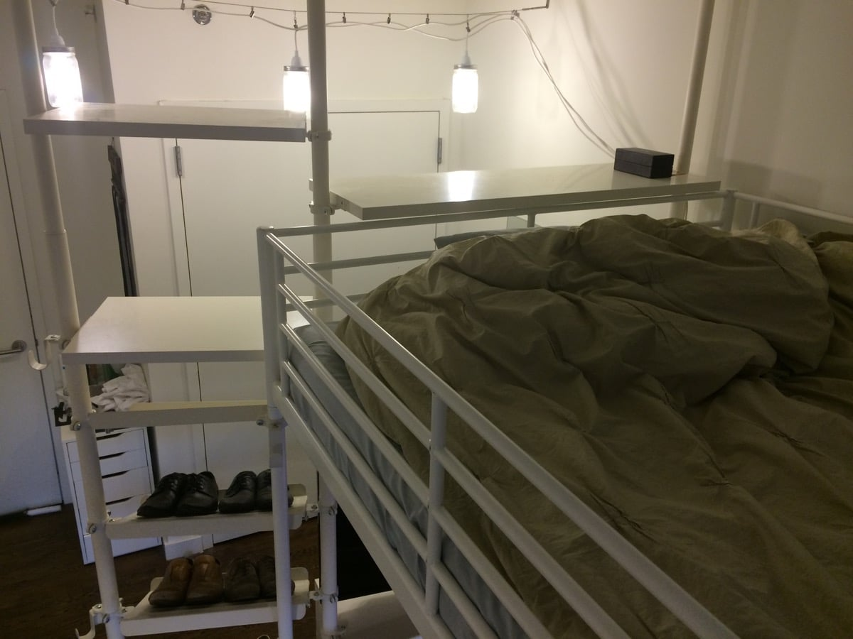Troms 214 Sleep Work Play Fortress Ikea Hackers