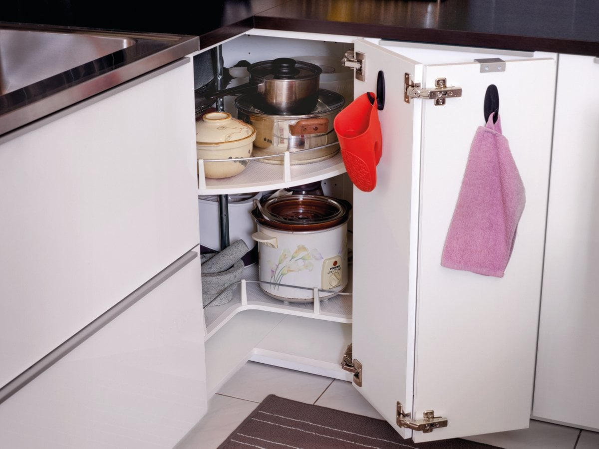 Corner Cupboard Carousel. Good A Carousel Is Simply A Mechanism With ...