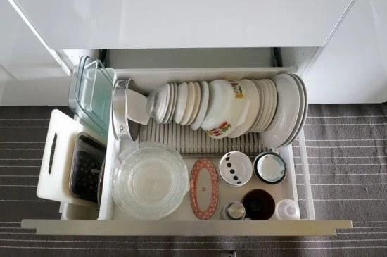 GRUNDTAL dish drainer to sort flatware