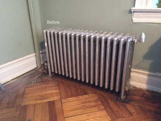 Radiator BEFORE
