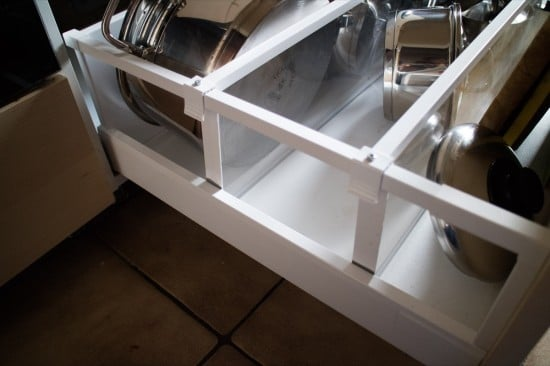 Reinforcing the Maximera Drawer Dividers