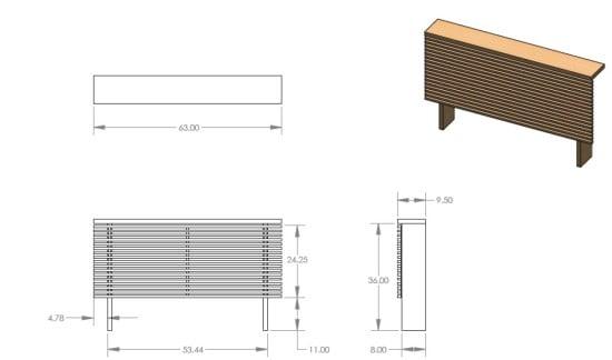 Mandal Headboard In 3D IKEA Hackers IKEA Hackers
