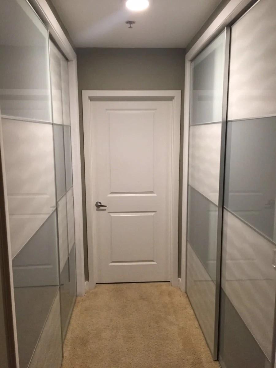 Pax Sliding Doors On Existing Condo Closet Ikea Hackers