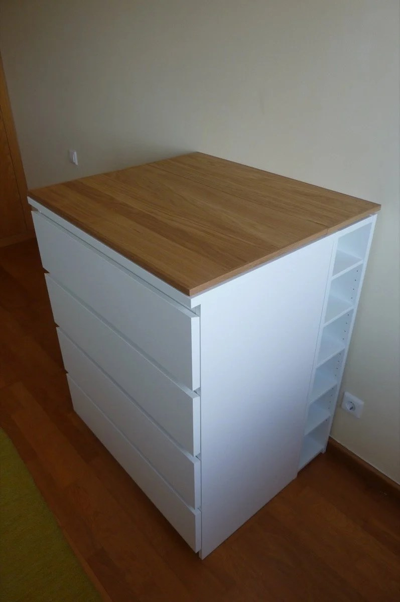 Baby Changing Table With Lots Of Storage Diy Ikea Hackers
