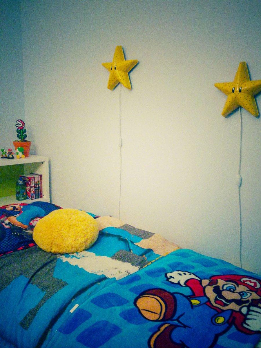 Make A Super Mario Bros Star Wall Lamp Ikea Hackers