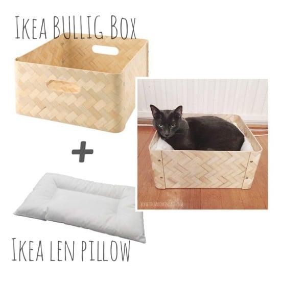 The Moomincats Blog, Cat bed, BULLIG, LEN