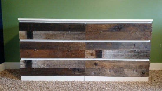 Barnwood-Faced Ikea Dresser Dream