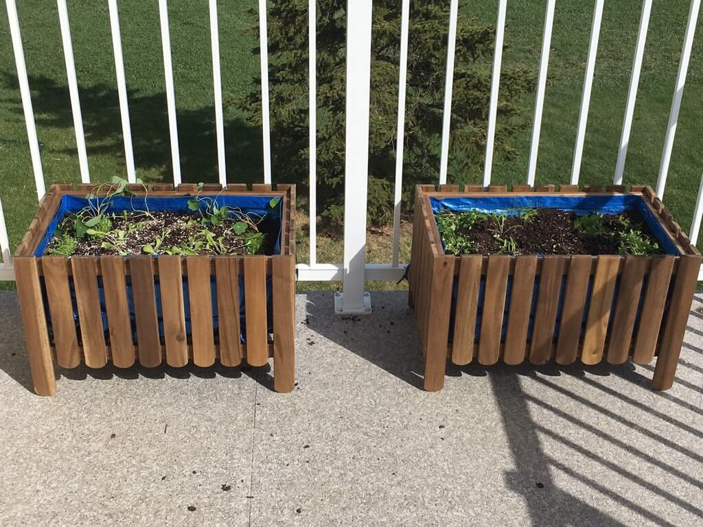 DIY Raised Bed Liner for Askholmen Planter
