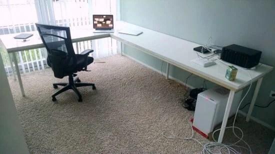 Fabulous linnmon ikea l shaped desk