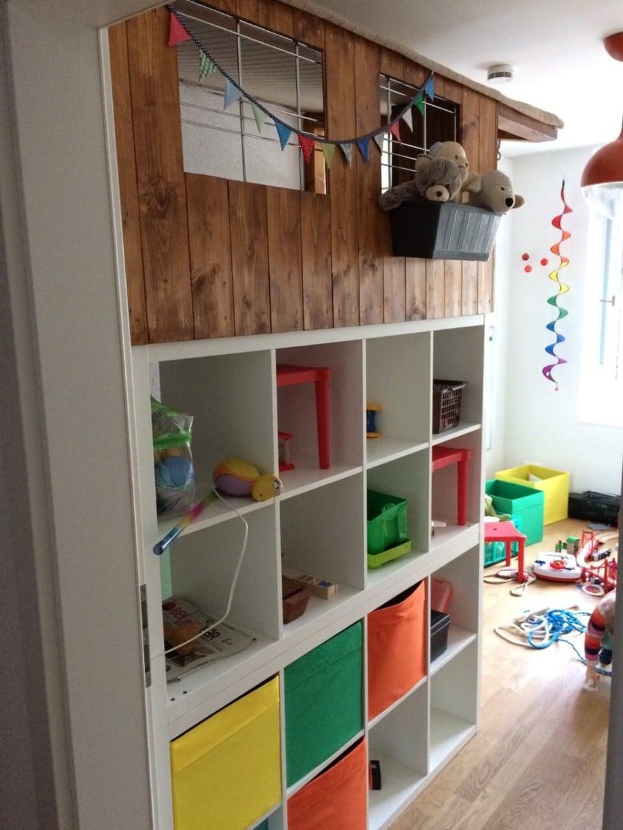 DIY KALLAX Wooden Playhouse