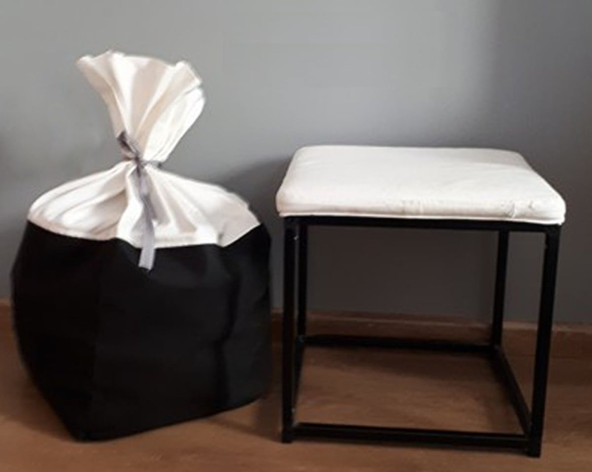 BOSNÄS IKEA Ottoman With Storage Hack