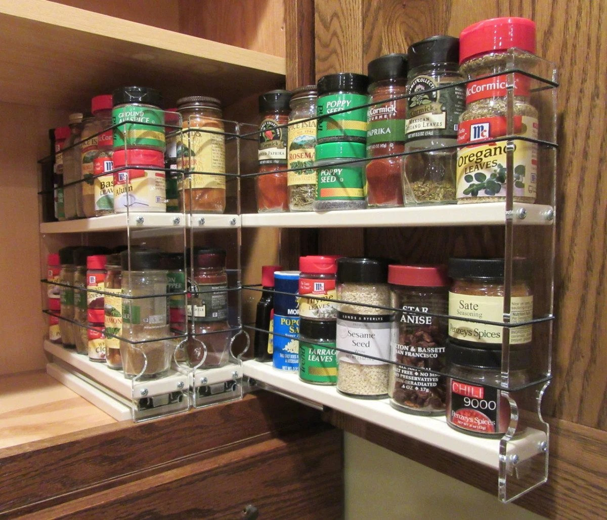 Hackers Help: Suggestions For A Pull-Out Spice Rack