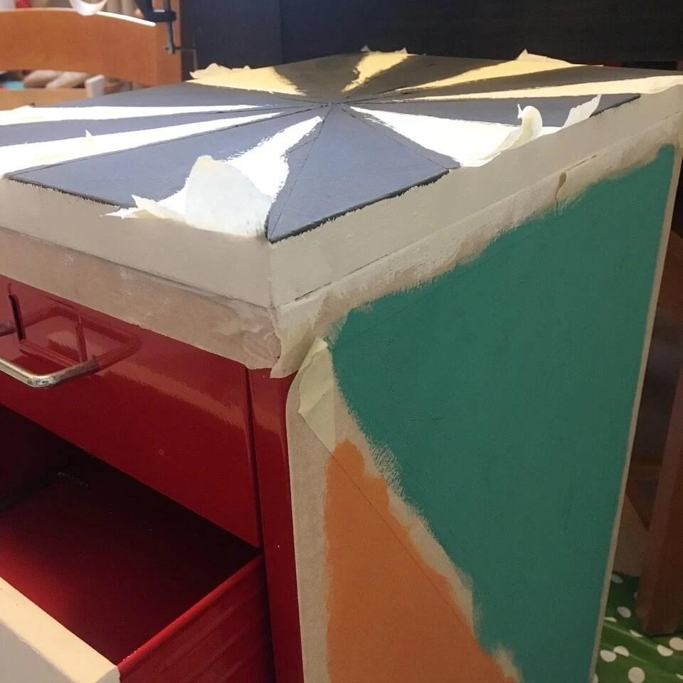 HELMER metal cabinet top