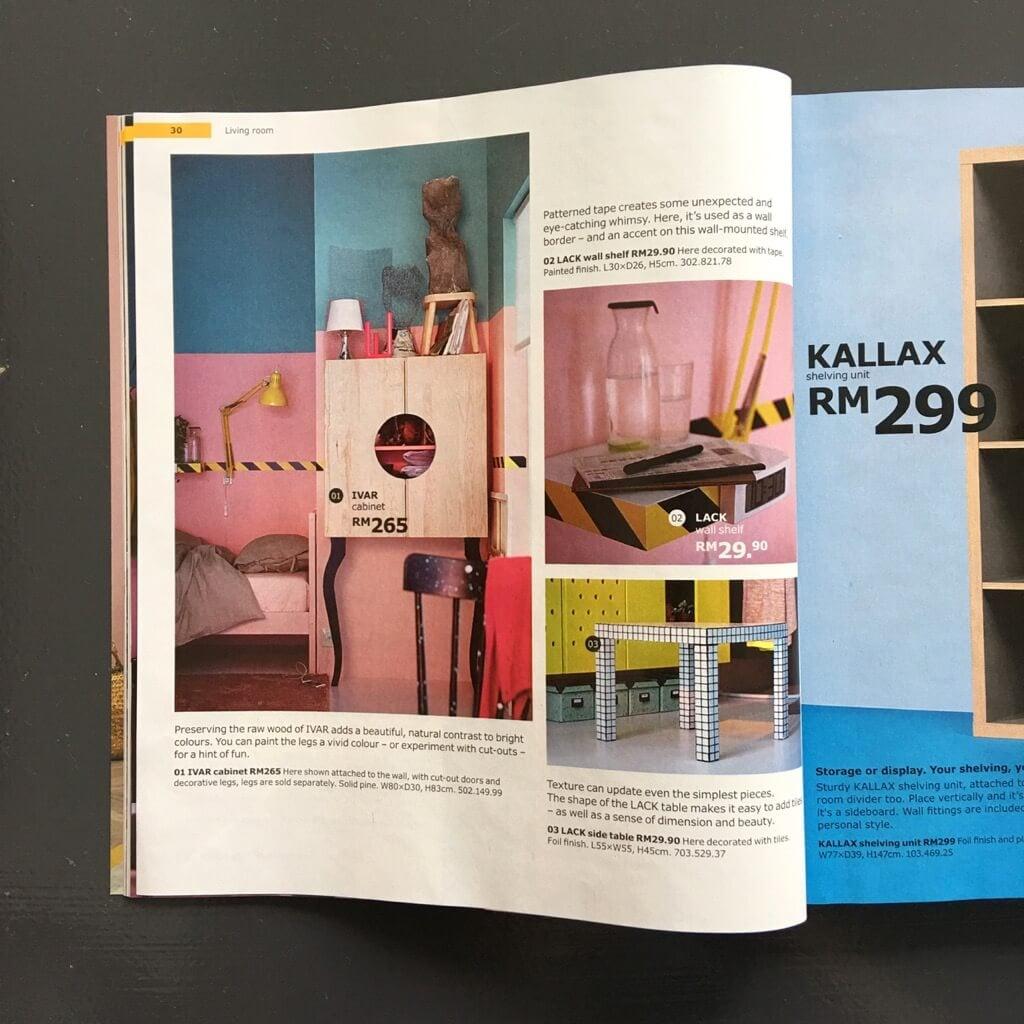 IKEA catalog 2018 Hacking Ideas
