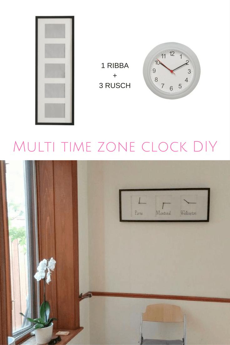 multi-time-zone-wall-clock-diy