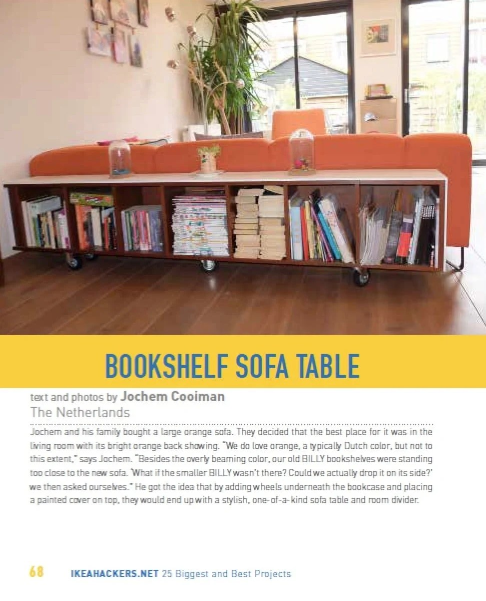 Sofa Room Divider Bookcase